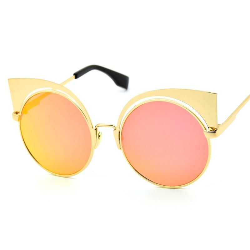 Orange Lense Sunglasses  aliexpress com metal alloy frame multicolour reflective