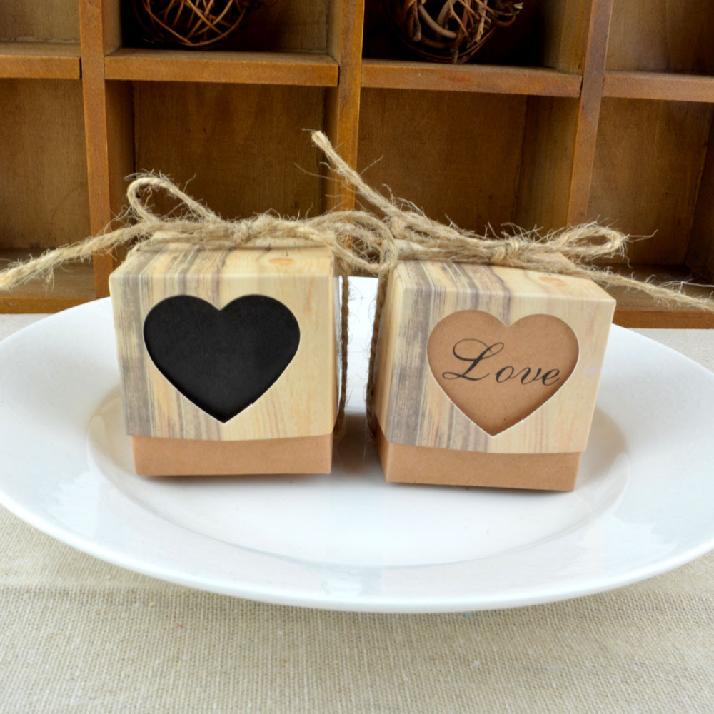 Vintage Wedding Gifts: Aliexpress.com : Buy 50pcs Heart Candy Box Vintage Wedding