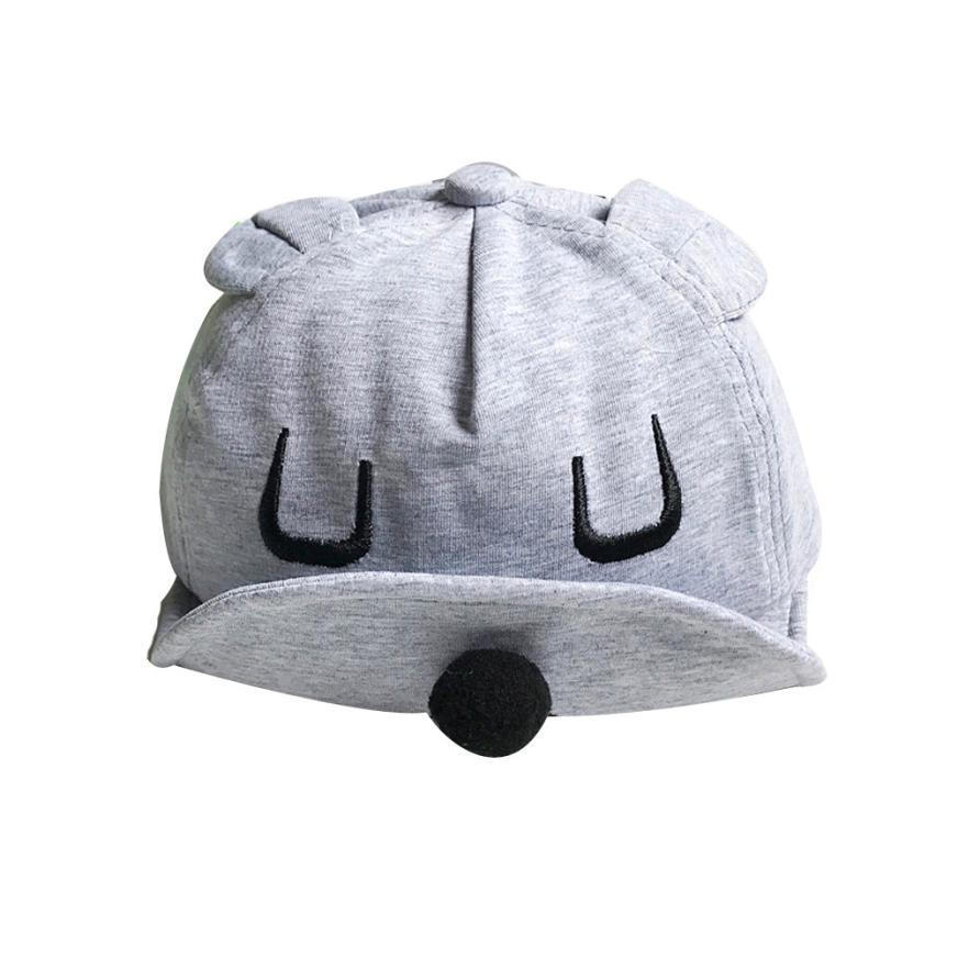 NEW Kids Infant Cap Baseball Cap Boy Girls Baby Sunhat Summer Hat Peaked Helmet