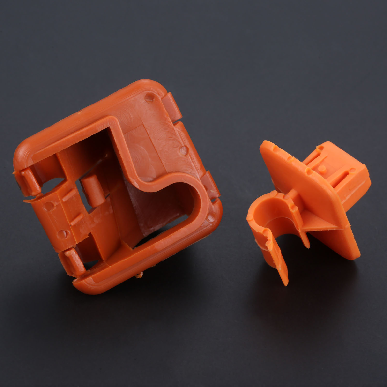 Image 4 - 1U0823570A Plastic Car Roomster Hood Bonnet Rod Stay Bracket Buckle Clip For Skoda Fabia Octavia MK2 2004 2012 2013-in Auto Fastener & Clip from Automobiles & Motorcycles