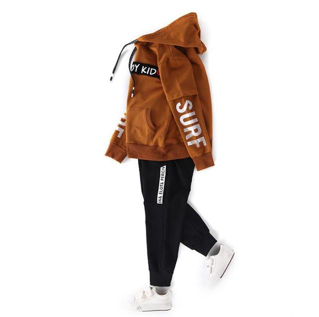 Spring New 2018 Casual Boy Tracksuit Pullover Jogging Set Childen Hoodies Sweatpants Sports Suit baby Children's Clothing Set 5