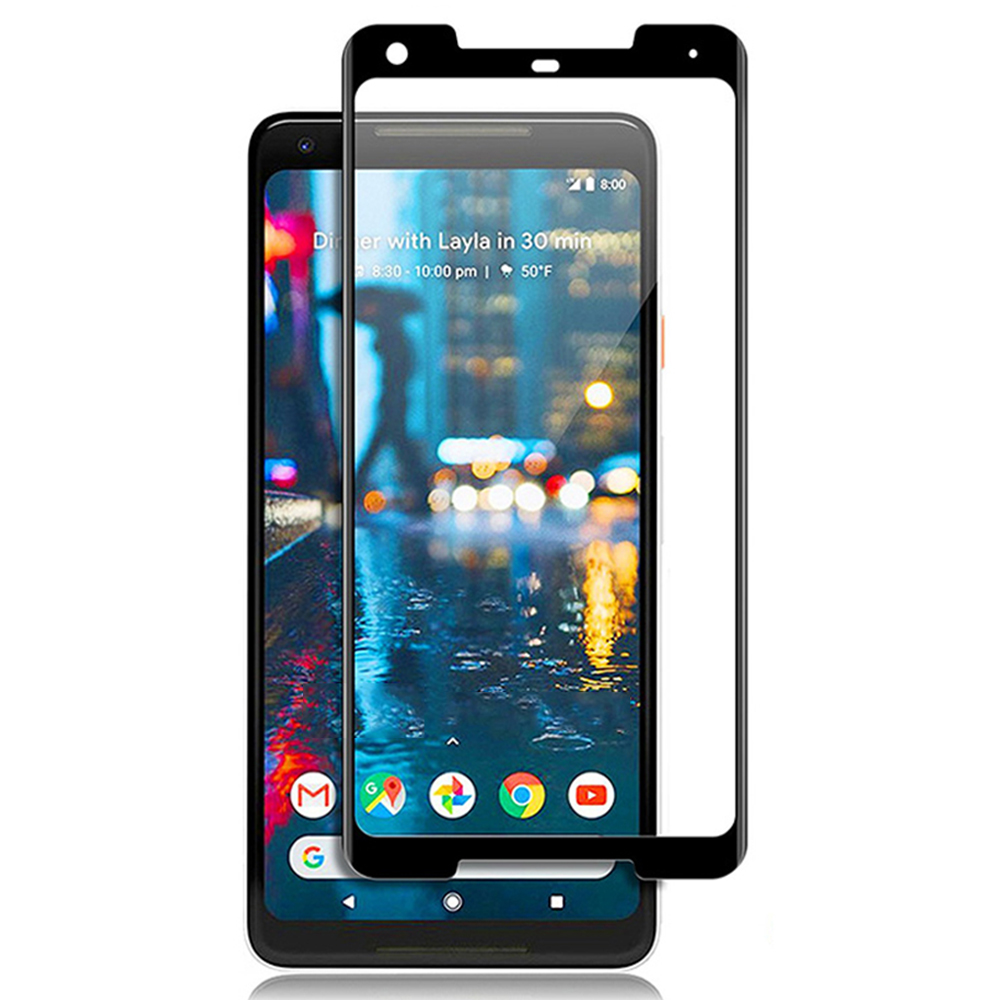 For Google Pixel 2 Xl Screen Protector For Google Pixel 2 2XL Tempered Glass Protection Full Coverage Protective Film Glass