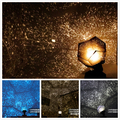 Xmas 3 Design Galaxy LED Night Light Star Master Starry Sky Projector Color Changing Magic Night Lamp kid chrismas Creative gift