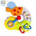 2016 New Cute Baby Toys Electric Musical Twisting Worm Insert Early Educational Toys for Kids Children Huile Toys 917 Xmas Gifts