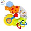 2016 Novos Bonitos Do Bebê Brinquedos Musical Elétrico Torção Worm Inserir primeiros brinquedos educativos para crianças dos miúdos huile toys 917 xmas presentes
