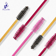 Peacock Tail Eyelash brush for eyelash extension lashes Comb Mascara Wands Cosmetic Brushes Set makeup tools maquillaje