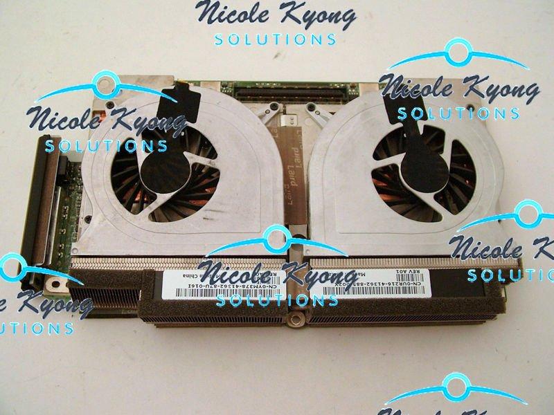 100% работает 8700 M GT CR331 HR106 RW331 512 М SLI двойные вентиляторы Графика VGA видео карты для DELL XPS M1730 ноутбука