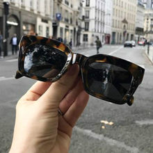 Square 2019 Sunglasses Men Women Clear Colorful Frame Sun Glasses For Lady Shades UV400 Sunglass Luxury Vintage Womens Glasse(China)