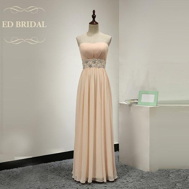Peach Chiffon Dresses