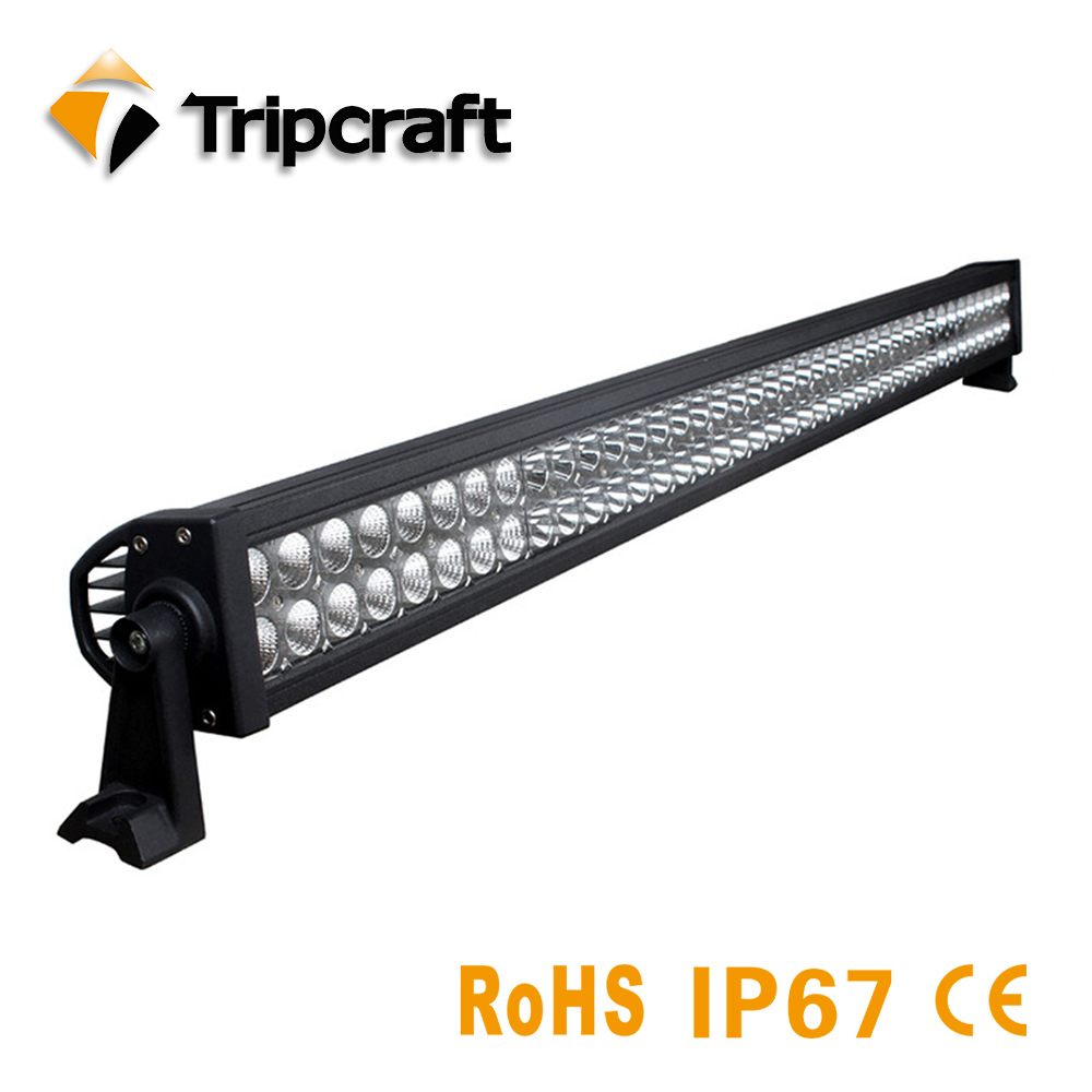 Factory direct 12V waterproof led light bar 240w led daytime running light for Tractor Boat OffRoad 4WD 4x4 Truck SUV ATV Combo oslamp 240w 23inch led light bar 5d combo offroad led work light bar driving lamp dc12v 24v truck suv 4x4 4wd boat atv led bar