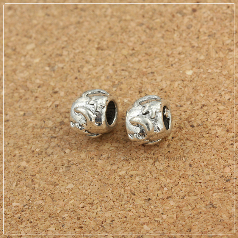 9950e141a 20 قطع الفضة التبتية الخرز سبائك مجوهرات الخرز صالح باندورا سوار diy AC030