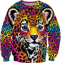 Hunter Sweatshirt Lisa Frank Clothing Unveils 90S Clothing Tops 3D printed Jumper Unisex Fashion Sweatshirt Jumper Pullovers top(China)