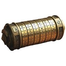 Educational toys Cryptex Metal locks Da Vinci Code lock Marry Lover Wedding Letter Password Lock Storage Home Decoration