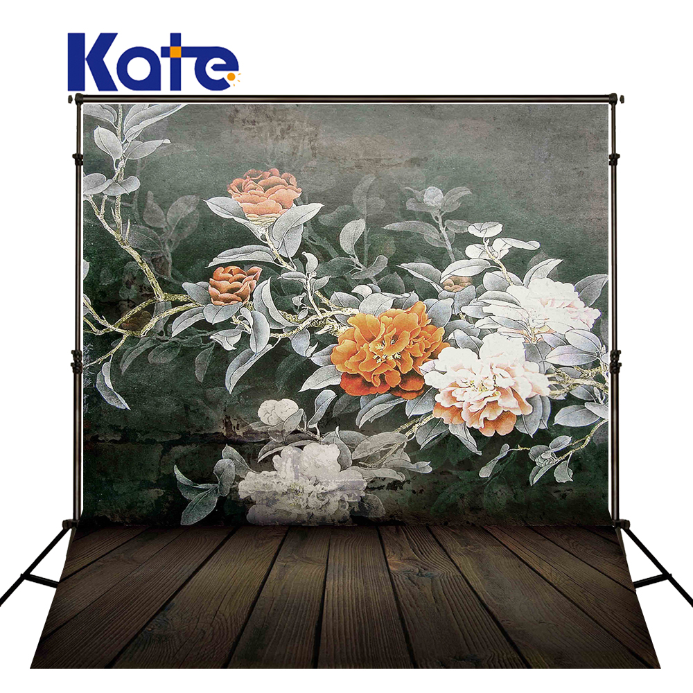 200Cm*150Cm Fundo Walls Painted With Flowers3D Baby Photography Backdrop Background Lk 1841 215cm 150cm fundo flower blossoms3d baby photography backdrop background lk 1860