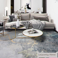 Abstract Drawing Patterns Lamb like Material Chinese Style Carpet rug Living room Bedroom Study Coffee table Decorative Room
