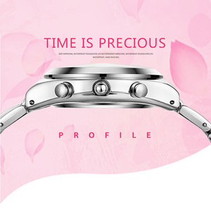 Image 5 - Longbo vip リンク女性のドレスクォーツ腕時計女性の有名な高級ブランド石英腕時計レロジオ feminino montre ファム 2020 新しい