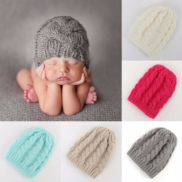 f00b888978c Puseky Winter Warm Baby Toddler Kids Boys Girls Knitted Caps Cute Hats  Crochet Hat Cap 5 Colors