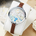 MISS KEKE Kids 3D Clay Mini World Girls Dresses Watches Analog Children Quartz Leather Casual Wristwatch Clock 820 montre enfant