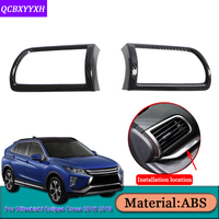 Car Styling For Mitsubishi Eclipse Cross 2018 2019 Auto Outlet On Both Sides Frame Covers Internal Decoration Sequins Accessory