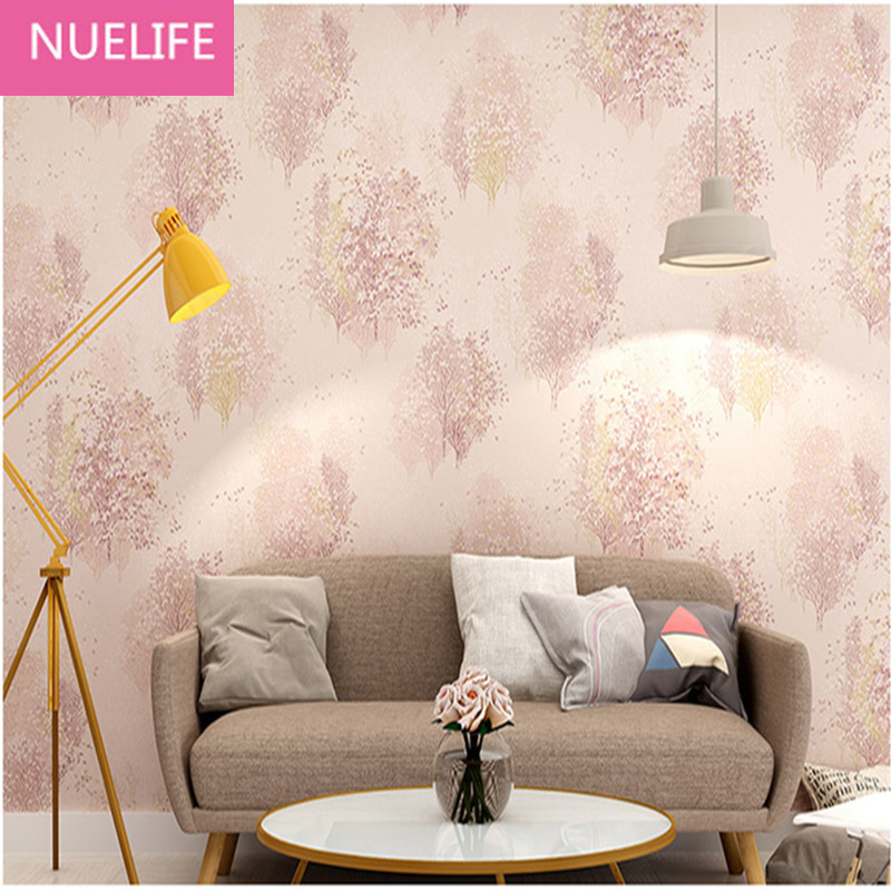 0.53x10 Meter Natural  forest pattern wallpaper living room study room bedroom shop background wallpaper