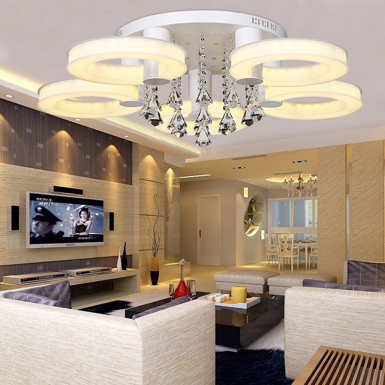 ФОТО New home improvement bedroom living room ceiling lamps, commercial entertainment LED energy - saving ceiling lamps