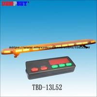TBD 13L52 High quality super bright 1.5M Amber LED lightbar, engineering/emergency light,DC12V/24V Car Roof Flash Strobe light