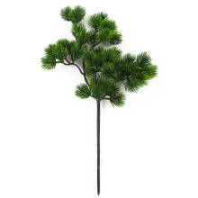 40cm 1pcs Artificial Branch Big Beauty Pine Simulation Plastic Green Fake Pine Needle Cabinet Balcony Garden Decoration M18 big new simulation green