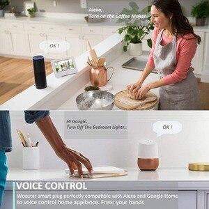 Image 4 - 2 шт. в упаковке, интеллектуальное зарядное устройство для ЕС, Wifi, умная розетка, таймер, переключатель, контроль мощности, энергосбережение, работает с Google Home Mini Alexa