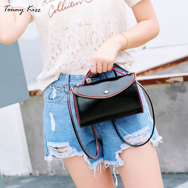Tonny Kizz lady's bags handbags 2019vintage crossbody bags for women small soft leather shoulder messenger bags yellow desigual
