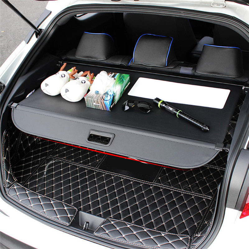 Car Styling Black Interior Retractable Rear Trunk Security Shield Cargo Cover For Toyota C HR CHR
