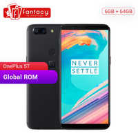 """OnePlus 5T 5 T 6GB/8GB RAM 64GB/128GB ROM Snapdragon 835 Octa Core 6.01"""" FHD 20MP Dual Camera OxygenOS Android 7.1 SmartPhone"""