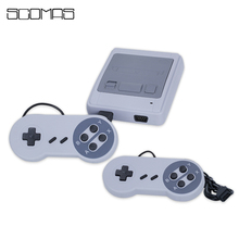 SCOMAS New 8 Bits Retro Classic Handheld Game Console Portable Game Player Video Dual Gamepad Gaming Consoles Built-in 400 Games