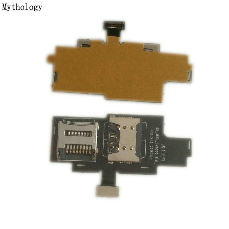 Mythology For Blackview BV6000& BV6000S Sim Card Holder Tray Slot Mobile Phone Repair Parts
