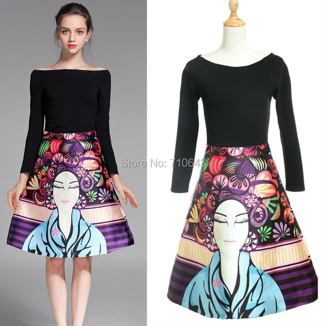 Designer A Line Skirts - Dress Ala