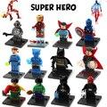 Super heroes Действие Строительные Блоки, Совместимые С Toyes Гражданской Войны X-Men Deadpool Халк Железный Человек