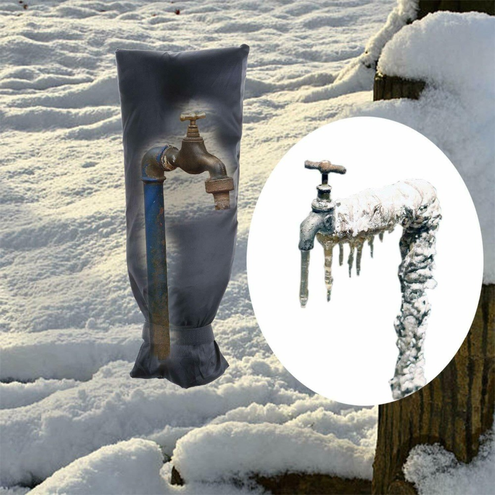 Garden Faucet Cover Faucet Freeze Protect Outside Metal Frost Protector Winter