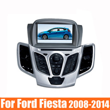 7″ Car DVD for Ford Fiesta 2008 2009 2010 2012 2013 2014 2015 DVD GPS navigation stereo with bluetooth Radio free map dvd player