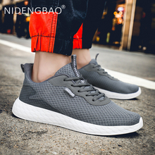 Summer New Men Sneakers Breathable Mesh Running Shoes for Men Outdoor Lace Up Sport Shoes Big Size 39-48 Athletic Footwear