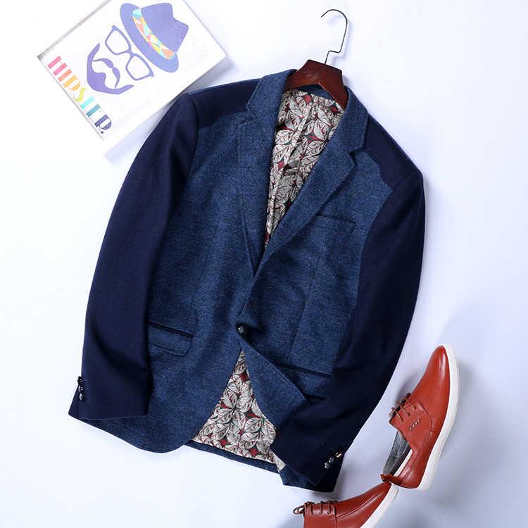 זול סיטונאי 2019 חדש סתיו חורף מכירה לוהטת גברים של אופנה netred עבודה מזדמן ללבוש נחמד מעיל MC105