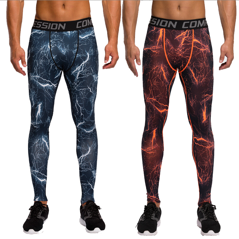 Camouflage Pants Men Fitness Mens Joggers Compression Pants Male Trousers Bodybuilding Tights Leggings MMA Pantalon Homme