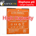 Elephone p6i battery New 100% Original Large 2600Mah For Smart Mobile Phone - In Stock