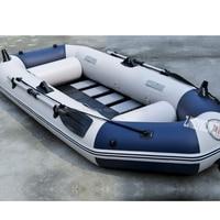 3 человека надувная лодка ПВХ материал Professional Рыбацкая надувная лодка ламинированные износостойкие лодка резина с веслами насосы