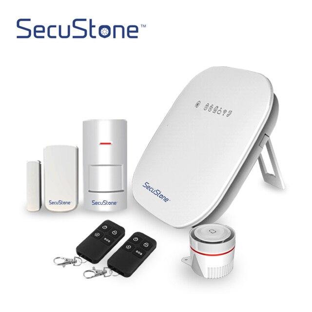 Secustone Smart wifi + PSTN домашняя охранная сигнализация, датчик двери, окна, детектор движения PIR брелоки, управление приложением 433 МГц WP1