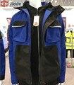 Jiade männer Arbeitskleidung Winter Jacke Reflektierende Winter Jacke Hohe Sichtbarkeit Winterjacke Maßnahmen der hülse
