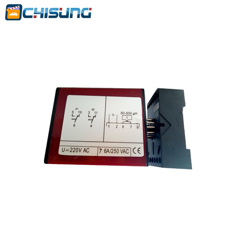Single One Channel Inductive Loop Detector For Parking Barrier Gate