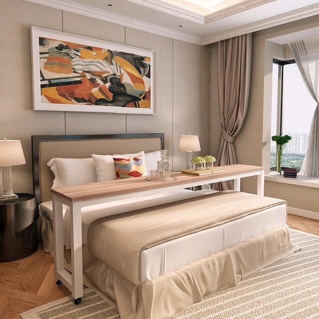 Cruz Mesas muebles mesa de estudio de madera minimalista perezoso ...