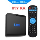 Live IPTV Android TV Box 1600+ Global Channels from Asian American Europe Arabic Brazil India Subscription Service