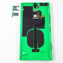 Original Battery Door Cover Rear Back Housing Case + NFC + Side Buttons + Sim SD Tray for Nokia Lumia 1520 Replacement Parts