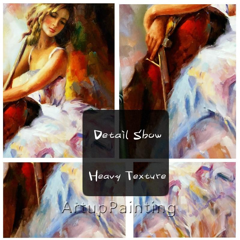Ισπανικά Flamenco βιολί κορίτσι - Διακόσμηση σπιτιού - Φωτογραφία 5