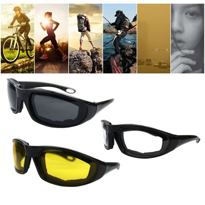 208b966afb0 Men Women Driving Motorcycle Glasses Sport Bike Bicycle Sun Glasses ...